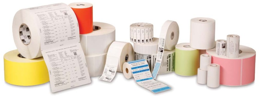 "barcode.co.uk. Labels / blank pre-cut rolls with gaps (for thermal label printers). A5 labels for 6"" to 8"" capable size printers from; Toshiba TEC, Intermec, Zebra, TSC, .... Lowest price at barcode.co.uk"