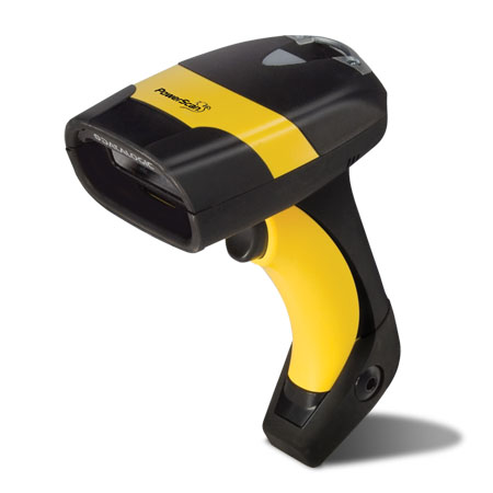 Datalogic (PSC). Rugged industrial IP rated barcode readers / scanners. Datalogic PD8300 series (PD8330) industrial corded handheld laser barcode reader. Lowest price at barcode.co.uk