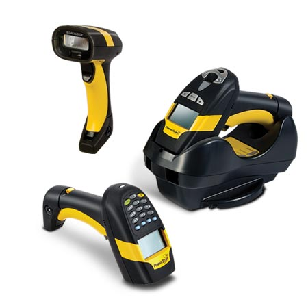 Datalogic (PSC). Cordless barcode readers / scanners. Datalogic PowerScan PBT8300 Bluetooth cordless / wireless industrial handheld laser barcode scanner. Lowest price at barcode.co.uk