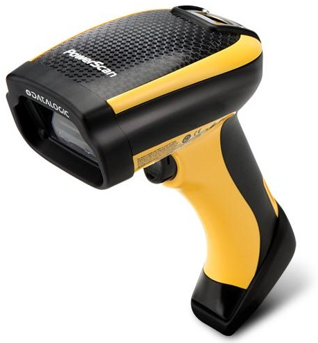 Datalogic (PSC). 2D matrix / imager type barcode readers (PDF417, QR Code, etc). Datalogic PowerScan PD9500 industrial area imager, the latest generation of rugged 1D and 2D area imager barcode scanner. Lowest price at barcode.co.uk