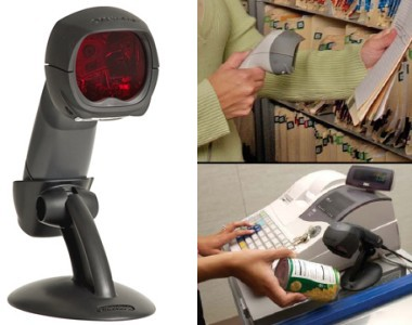 Honeywell (HHP Handheld). Presentation / omni-directional barcode readers / pattern scanners / holographic. Honeywell MS3780 Fusion omnidirectional and single line laser handheld and hands free barcode reader. Lowest price at barcode.co.uk
