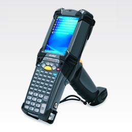 Motorola / Symbol Technologies. Portable wireless terminals (WiFi 802.11 / GPRS internet / Bluetooth / etc. ) Pocket PC, Microsoft Windows Mobile, CE 5.0 / 6.0, Visual Studio, .Net, flash, touch screen, etc.. Symbol Technologies / Motorola MC9090-G Haz Loc mobile / portable barcode terminal. Lowest price at barcode.co.uk