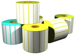 "barcode.co.uk. Labels / blank pre-cut rolls. Polypropylene Thermal Transfer (pp) labels, matt finish, 1"" core, 4"" OD rolls. Lowest price at barcode.co.uk"