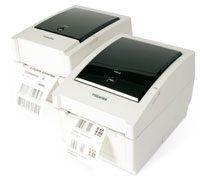 TEC. Desktop (medium duty) thermal label printers. Toshiba EV4T thermal transfer / direct thermal label printer. Lowest price at barcode.co.uk