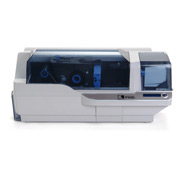 Zebra (Eltron). Card printers / plastic ID cards. Zebra P430i double sided plastic card printer. Lowest price at barcode.co.uk