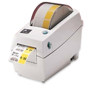 Zebra (Eltron). Desktop (medium duty) thermal label printers. Zebra TLP 2824 / LP 2824 printhead and accessories. Lowest price at barcode.co.uk